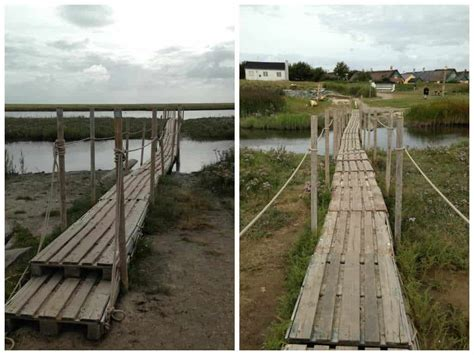 pallets bridge  pallets
