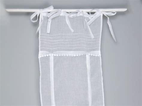 rideau store en voilage blanc avec coeurs simla