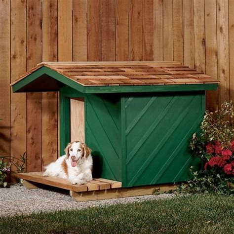 woodworking project paper plan  build dog house