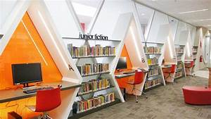 Library Interior Design Planning - Video and Photos ...