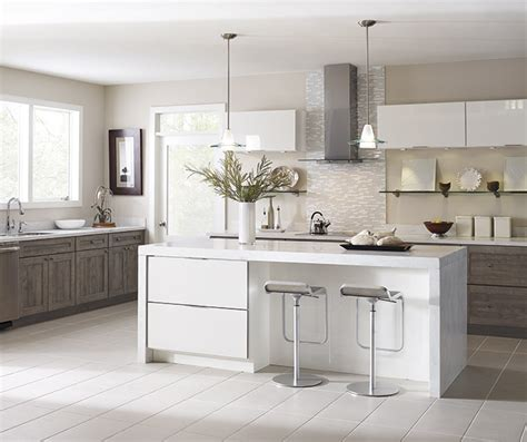 gloss laminate kitchen cabinets at lowes basden truecolor elk 3849
