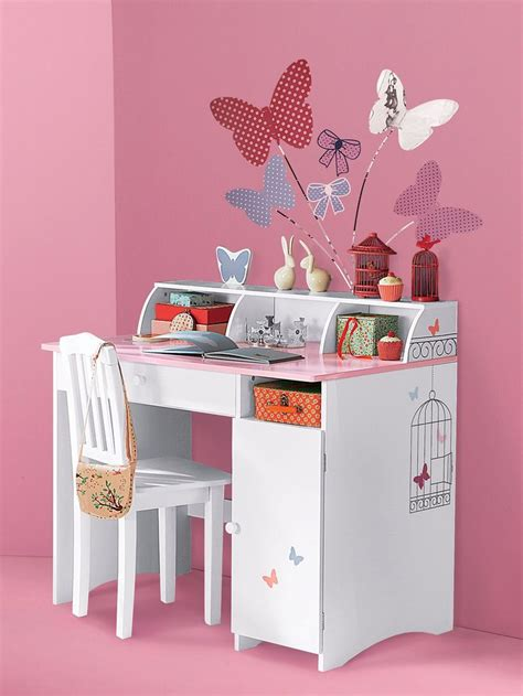 but bureau fille bureau fille vertbaudet table basse table pliante et