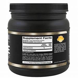California Gold Nutrition  Creatine Powder  Micronized Creatine Monohydrate  Creapure