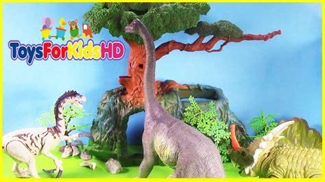 Los Dinosaurios Para Niños Brachiosaurus  Videos De