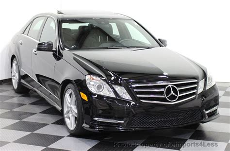 People say that summertime is the best time to drive a convertible, and they would be right. 2013 Used Mercedes-Benz CERTIFIED E550 4Matic V8 AMG Sport AWD Sedan NAVIGATION at eimports4Less ...