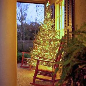Two, Men, And, A, Little, Farm, Christmas, Tree, On, Front, Porch, Inspiration, Thursday