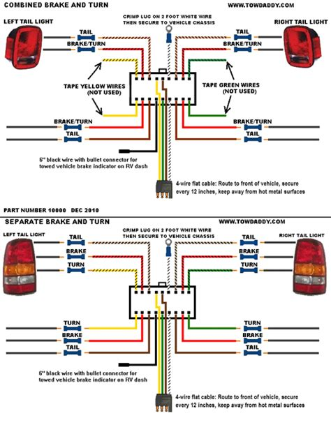 Tow Daddy Plug N Tow Wiring Universal Kit