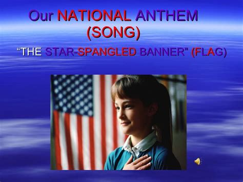 Our National Anthem (song