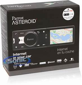 "Parrot Asteroid Classic In-Dash 3.2"" AM/FM/USB Car Stereo ..."