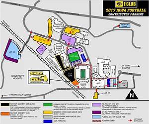 Map Of Iowa City Kinnick Stadium Download Them And Print