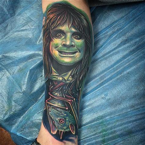 bat ozzy tattoo  tattoo ideas gallery