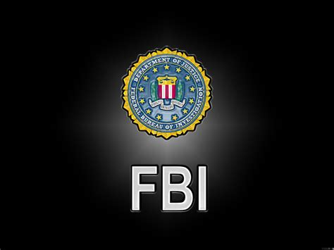 federal bureau of federal bureau of investigation black logo hd