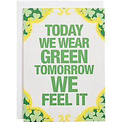 today  wear green  st patricks day card  images