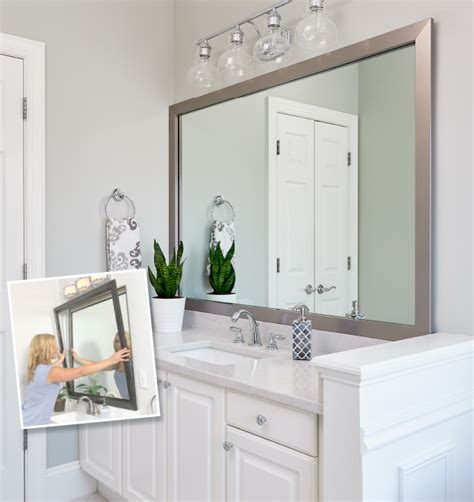 Bathrooms Mirrors by Mirror Frames For Mirrors Mirrormate Frames