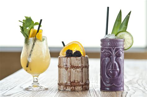 tiki drinks tiki cocktails a day out in paradise the fervent shaker
