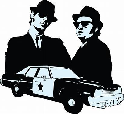 Blues Brothers Clipart Banner Stencil Library Redbubble