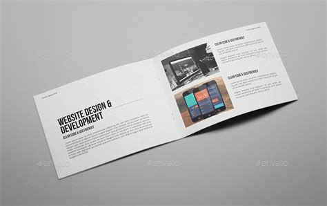 Ad Agency Brochure Design by Creative Agency A5 Portfolio Brochure By Giantdesign