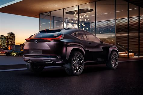 lexus crossover new lexus ux crossover concept officially announced for