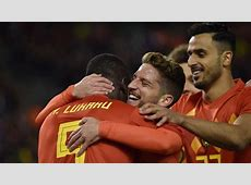 Record de buts avec les Diables rouges Lukaku rejoint Voorhoof et Van Himst Le Soir