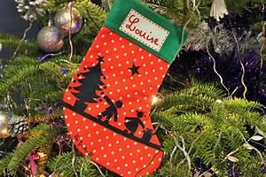 Chaussette De Noel Personnalisée : chaussette personnalis e pour noel le pays des merveilles ~ Melissatoandfro.com Idées de Décoration