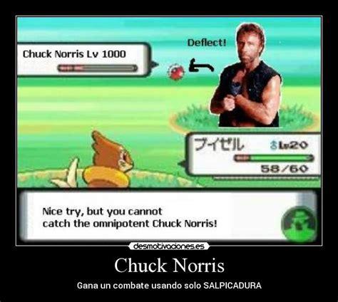 Chuck Norris Pokemon Memes - im 225 genes y carteles de combate pag 5 desmotivaciones