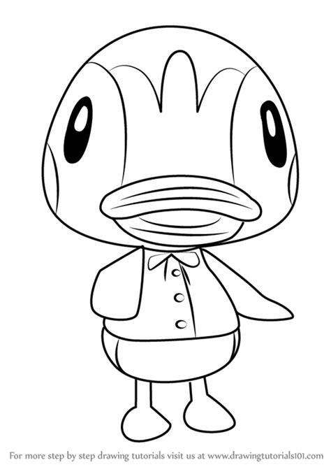 learn   draw molly  animal crossing animal