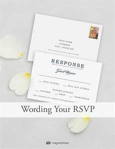 Wedding rsvp wording magnetstreet weddings for Destination wedding invitation rsvp etiquette