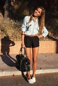 combinaciones de con camisas de jean denim para