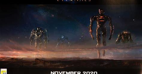 Marvel Studios presenta el primer póster del 'The Eternals'
