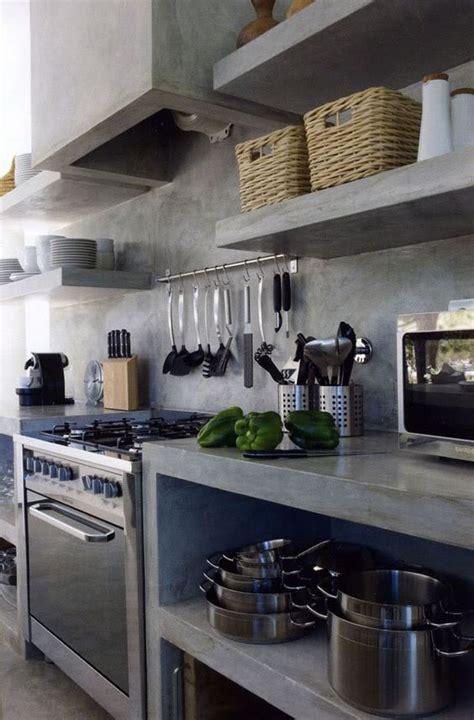 cocinas industriales modernas pequenas rusticas disenos