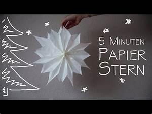 Butterbrotpapier Sterne Vorlage : diy papier stern in 5 minuten kekulo christmas ~ Watch28wear.com Haus und Dekorationen