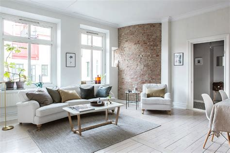 Exposed Brick White Create Stunning Decor by Exposed Brick And White Create A Stunning Decor