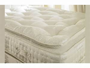 2000 pocket spring 12quot memory foam organic pillow top for Best mattress spring or foam