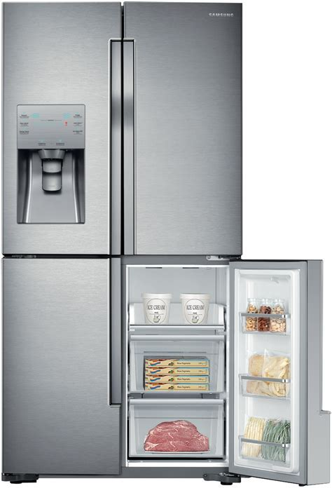 Samsung SRF719DLS 719L French Door Refrigerator at The