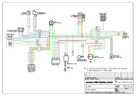 Baja 50 Wiring Diagram Schematic by Honda Xr 600 Service Manual Schematics Eeprom
