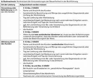 Steuerfreie Ausfuhrlieferung Rechnung : checkliste im und export kfz handel in drittl nder ~ Themetempest.com Abrechnung