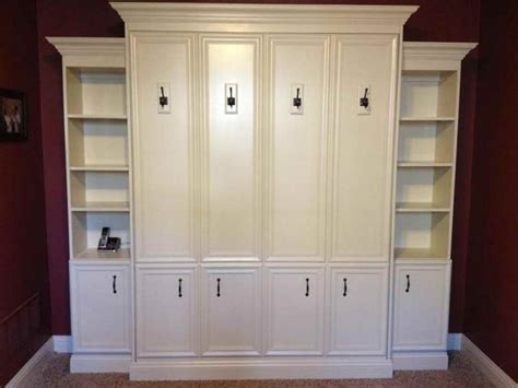 Size Murphy Bed Ikea by Size Murphy Bed With White Cabinet Bed For Nursery