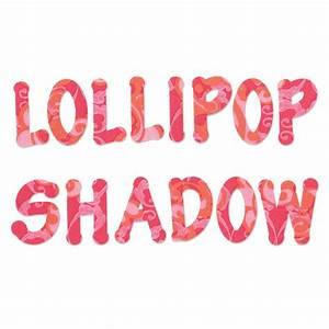 sizzix bigz die set of four lollipop alphabet With sizzix die cut letters