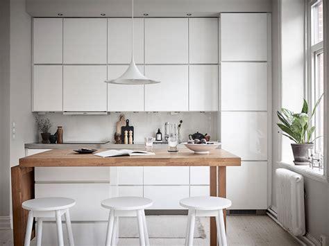 cocina nordica elegante  isla portatil blog tienda