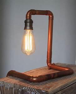 Industrial Design Lampe : lampe design industriel avec ampoule vintage edison d co loft atelier luminaires par carte ~ Sanjose-hotels-ca.com Haus und Dekorationen