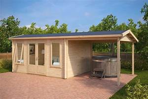 Garden Room With Canopy Eva D 12m 44mm 3 X 4 M