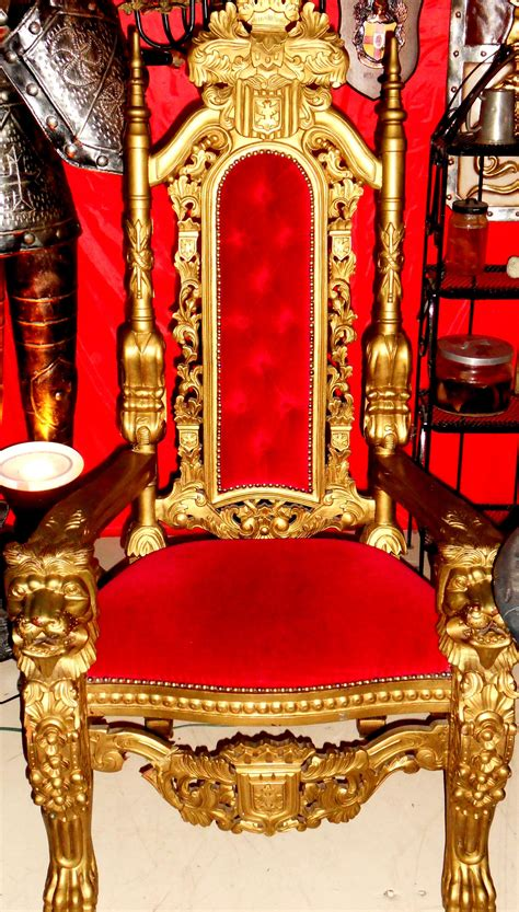 medieval throne