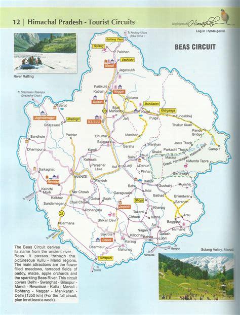 tourist map  dharamshala himachal pradesh infoupdateorg