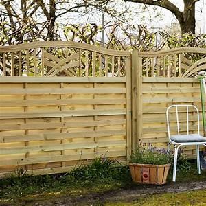 Balkon Sichtschutz Holz : holz sichtschutz zaun ronda natur ~ Watch28wear.com Haus und Dekorationen
