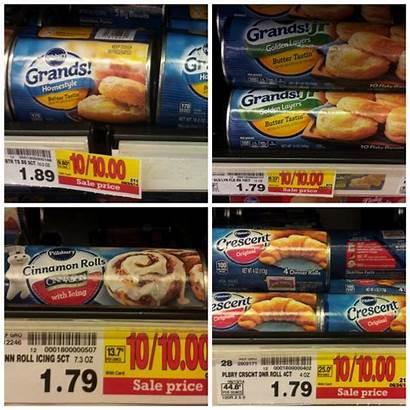 Pillsbury Kroger Rolls Cinnamon Biscuits Crescent Mojosavings