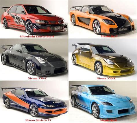 Tokyo Drift Cars Mitsubishi Lancer Evo 8  Køretøjer Fra