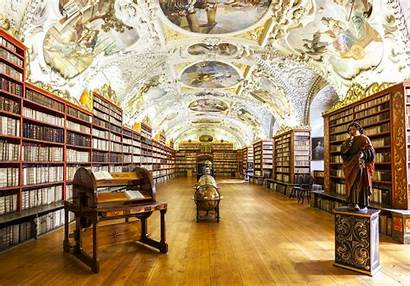 Library Libraries Coolest Europe Interiors Prague Hall