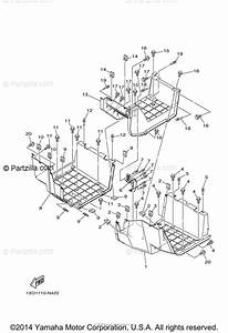 Yamaha Side By Side 2015 Oem Parts Diagram For Stand  Footrest