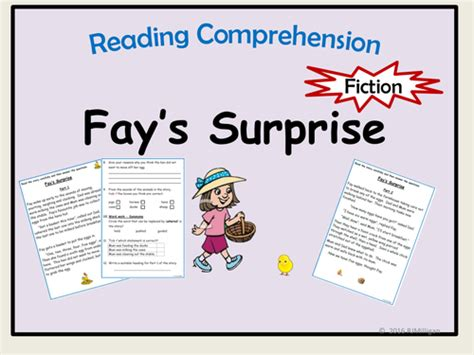 Reading Comprehension Story Text And Questions In Two Parts By  Uk Teaching Resources Tes