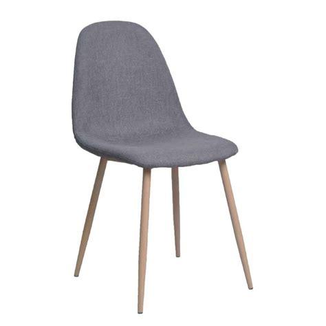 Lot De 4 Chaises Design by Lot De 4 Chaises Design Quot Sopri Quot 87cm Gris